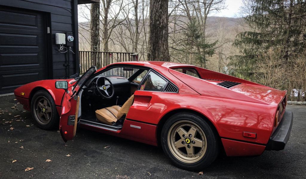 Restored Ferrari 308 GTB