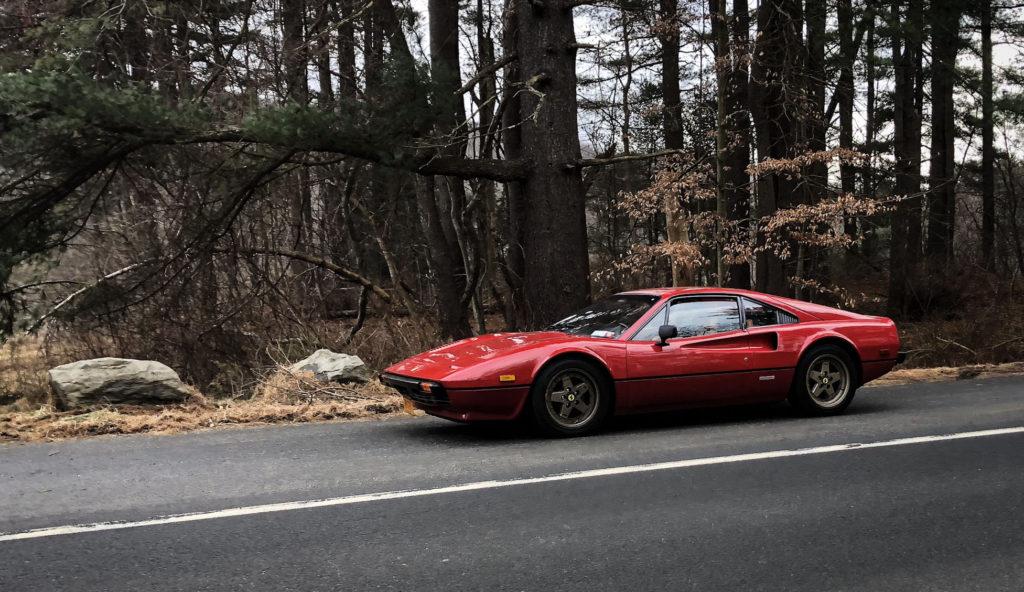 Ferrari 308 in Harriman Park